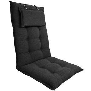 Hochlehner Auflage Luxor Polsterauflage Stuhlauflage Sitzauflage Stuhl Auflagen