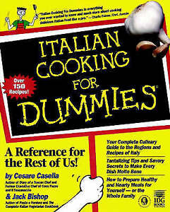 Italian-Cooking-for-Dummies-Cesare-Casella-Jack-Bishop-Used-Good-Book