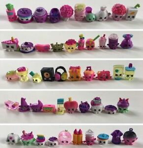 LOTS OF RANDOM (50 Pcs) FIGURE DOLLS SHOPKIN SEASON 1 2 3 4 5 6 7 8 KIDS TOY