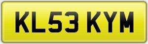 KL53-KYM-RARE-KL-PRIVATE-DVLA-CAR-REG-NUMBER-PLATE-KIM-KIMBERLEY-KIMMY-KIMMIE