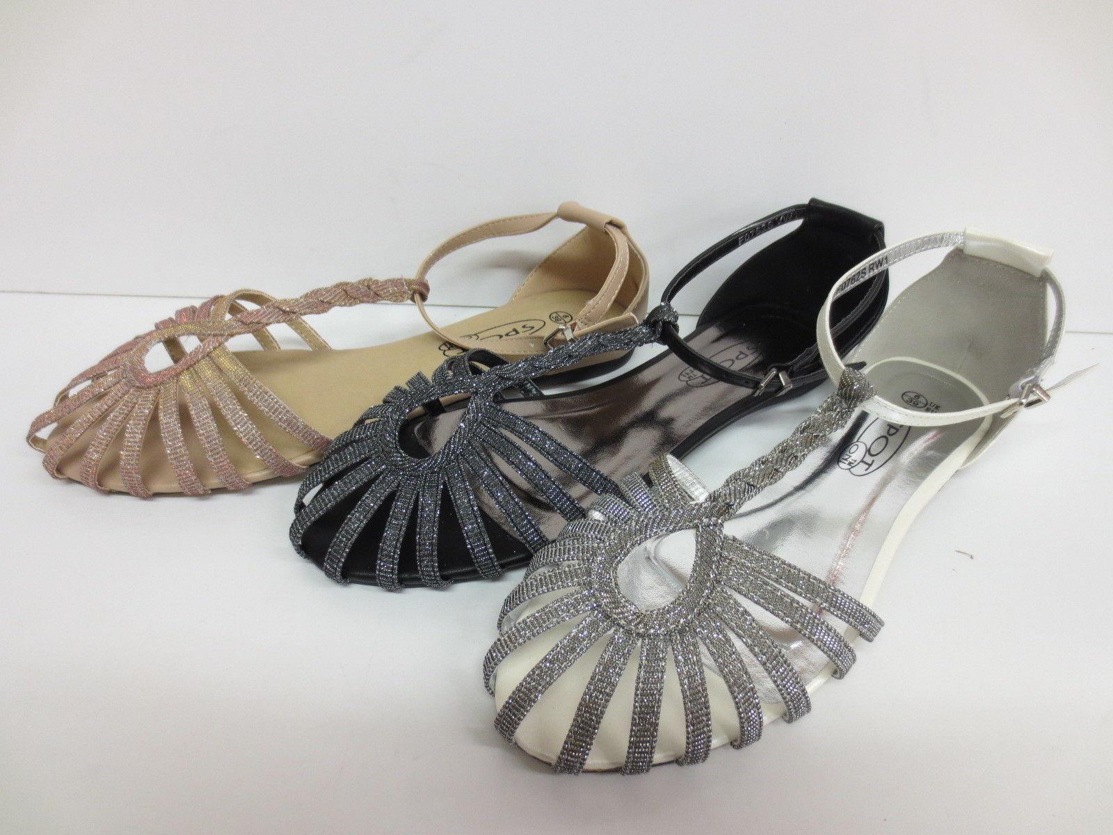 f0762- 3 Donna anne michelle sandali Sintetici 3 f0762- colori; peltro, nude& Argento 9163d7