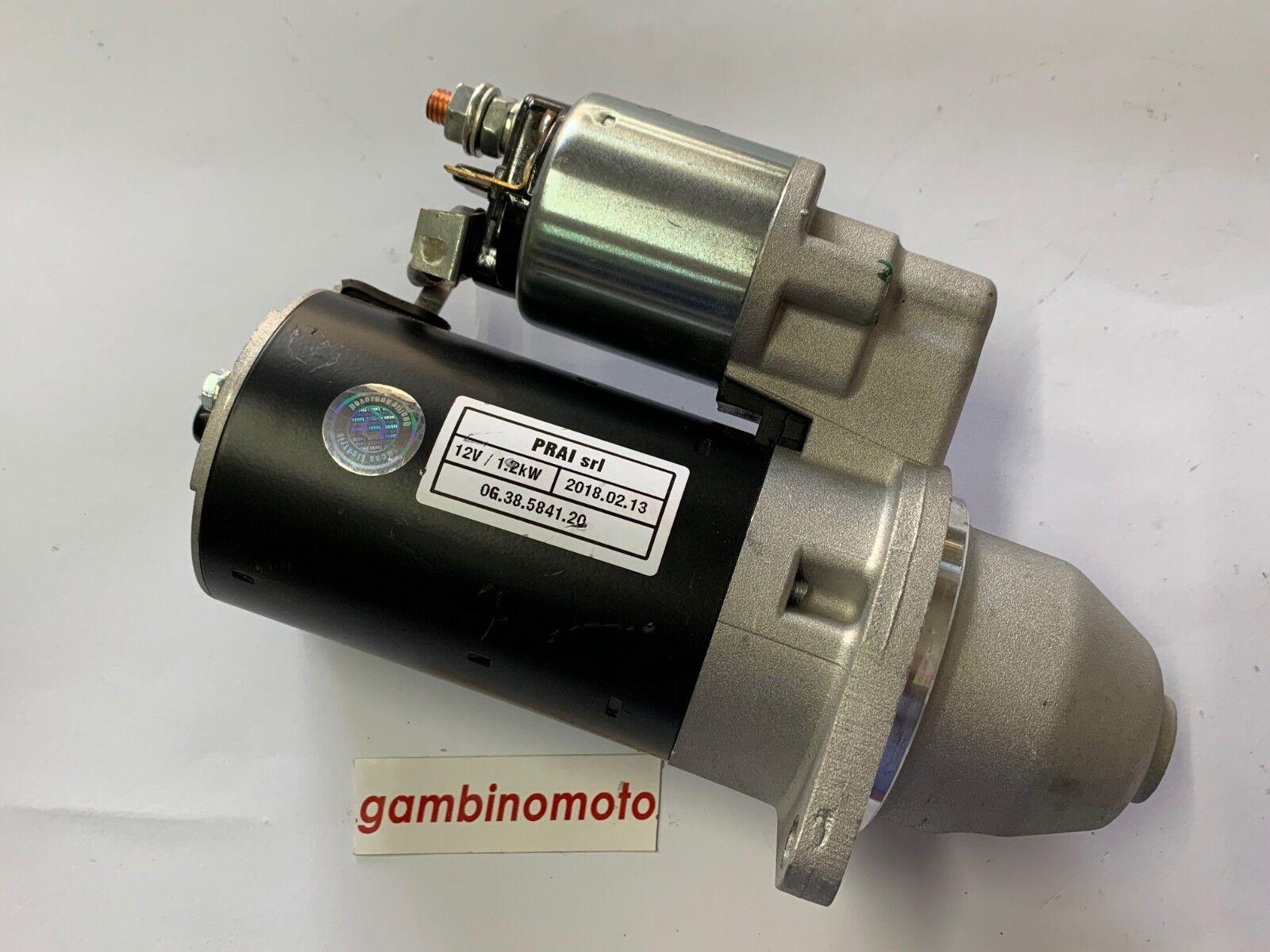 MOTORINO AVVIAMENTO ELETTRICO LOMBARDINI 6LD - 3LD - RF80 9 DENTI 1,2 Kw-12V