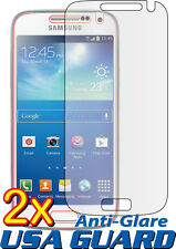 2x Anti-Glare LCD Screen Protector Cover for Samsung Galaxy S4 Mini GT-i9190