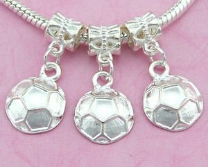 30pcs-Silver-Tone-Plated-Soccer-ball-Dangle-Charms-For-Bracelet-SY42