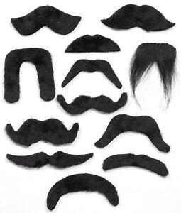 Black-Moustache-Mexican-Bandit-Wing-Commander-Pirate-20s-70s-Vicar-Biker-Chinese