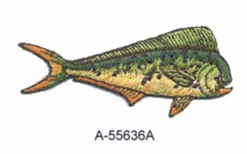 Mahi Mahi Dorado Dolphin Fish Embroidery Patch