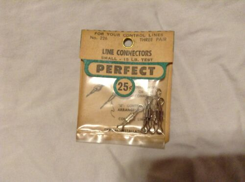 PERFECT CONTROL LINE  model airplane Line Connectors  small size # 226