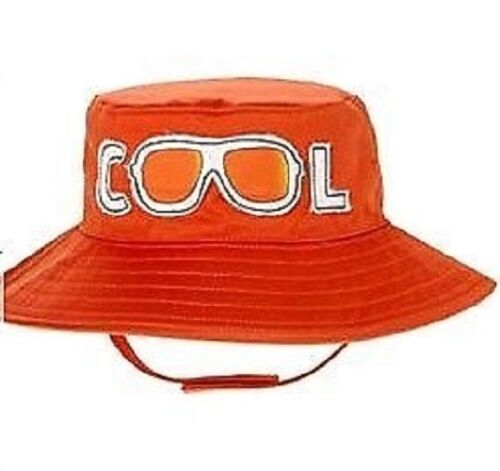 "NWT boys gymboree SWIM SHOP 2013 orange /""COOL/"" sunglasses BUCKET HAT CAP SUN~PIC"