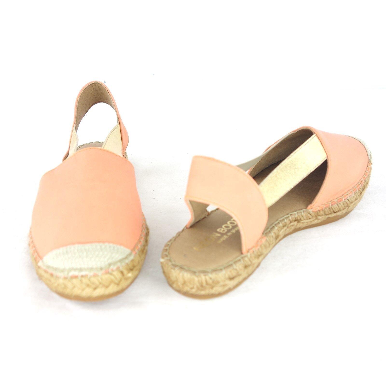 NEON Stiefel Damen Sandalen 36 Espadrilles Pantoletten Schuhe EU 36 Sandalen Leder NP 109 NEU ef740d