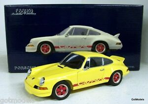 EBBRO-1-24-240110-PORSCHE-911-CARRERA-RS-YELLOW-DIECAST-MODEL-CAR