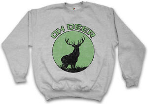 Pull Cerf Oh Chasse Fusil Chasseur Sport Deer Chasse Ours divertimento Cerf 8k0wNPnOX