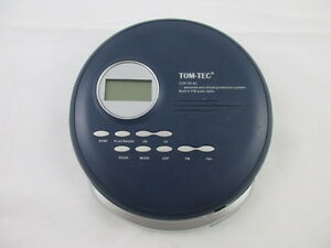 vintage: TOM-TEC cd walkman cdp 30-60 disc man