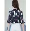 Verano-para-mujer-Floral-Casual-de-Gasa-Manga-a-Mitad-de-Superdry-holgado-Camiseta-Blusa-Camiseta miniatura 11