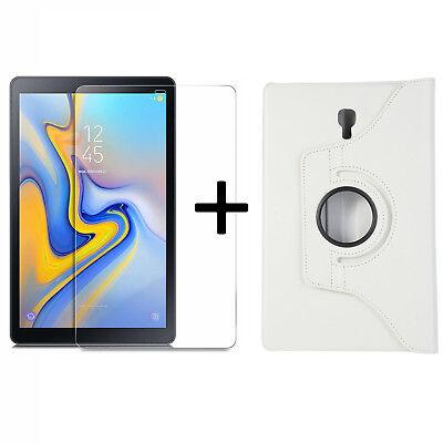 Set Guscio Per Samsung Galaxy Tab A 10.5 Sm-t590 T595 Cover Case + Protezione Display-