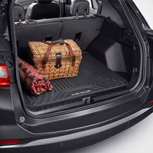 2018 chevrolet equinox black. simple chevrolet 2018 chevrolet equinox premium all weather cargo area floor mat 84215433  black  ebay intended chevrolet equinox black