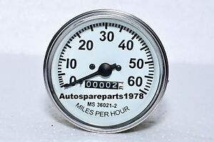 Willys M Series Jeeps, MB, GPW, CJ2A, CJ3A , CJ3B Speedometer -1947