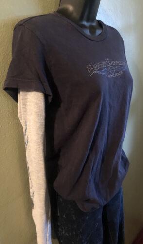 Vintage Y2k womens Harley Davidson long sleeve lay