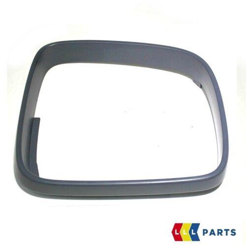 NEW GENUINE VW TRANSPORTER 03-10 O//S RIGHT DOOR MIRROR FRAME BLACK RHD 7E2858554
