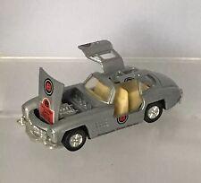 "Sunnyside Tame Racing 1:39 Scale Mercedes Goldwing Silver 4.5"" Rev N Go Car."