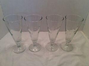 Pair-Princess-House-Heritage-Handcut-Crystal-Heritage-Pilsner-Glasses