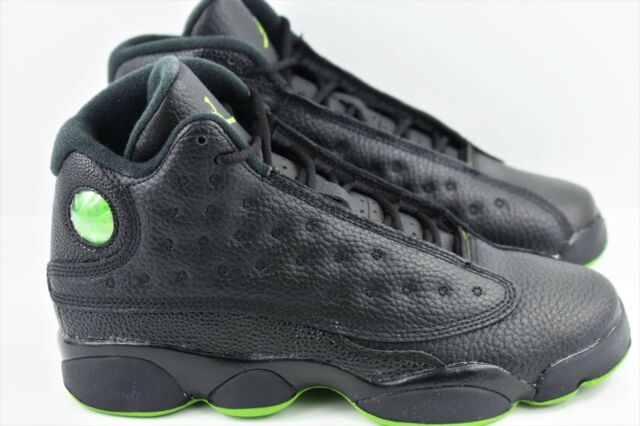 check out f8621 acb4a Nike Air Jordan 13 Retro BG Youth Size 6Y Shoes Black Women Size 7.5 XIII  414574