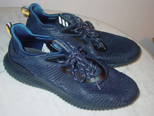 e4b2b92b25f22 Mystery Blue Shoes 2017 Ams 13 Mens Adidas Size Running Bw1127 Alphabounce  XFXwP