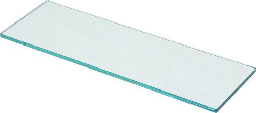Saphir 10 mmclairement /& satiné9 dimensionsglasregal étagère murale étagère