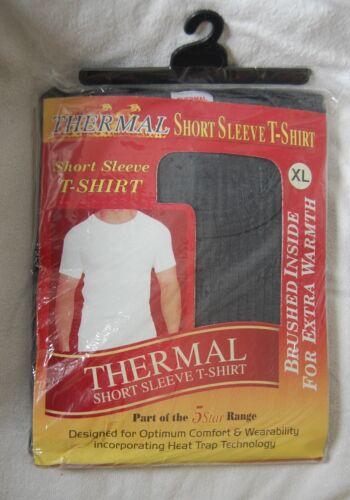 MENS LARGE THERMAL SHORT SLEEVE T-SHIRT COLOUR;GREY