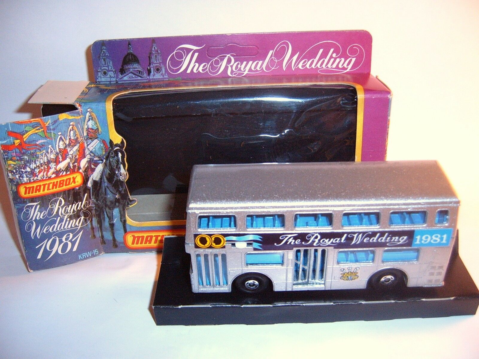 Matchbox Matchbox Matchbox SuperKings Super Kings K 15 k15 London Bus Royal Wedding Lady Diana mb  c02194