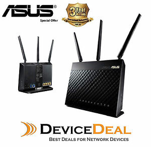 Asus-DSL-AC68U-AC1900-1900Mbps-Dual-Band-Wireless-Gigabit-ADSL-VDSL-Modem-Router