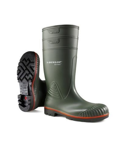 Dunlop Acifort  Heavy Duty full Safety Wellington Boots With steel Toe Caps