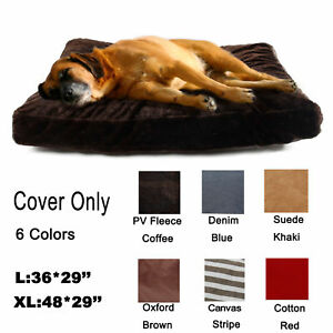 Pet Large Dog Cat Bed Nest Cover Replacement Soft Cushion Slipcover Washable