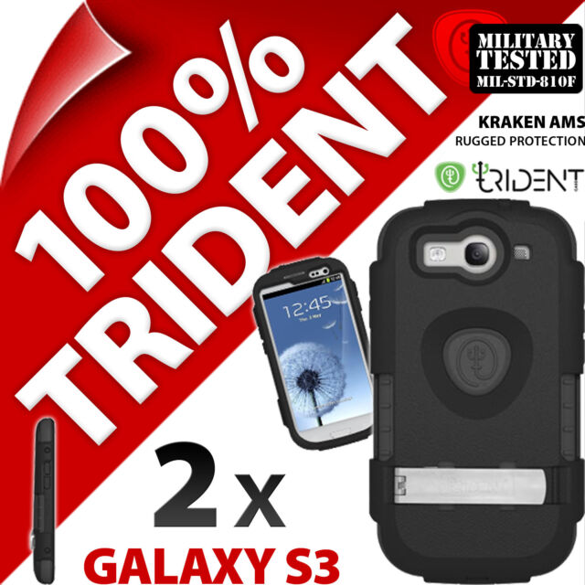 2 X Trident Kraken Ams Protection COQUE Rigide pour Samsung i9300 Galaxy S3