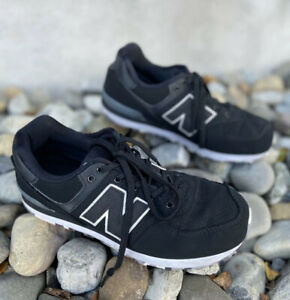 all black new balance size 4
