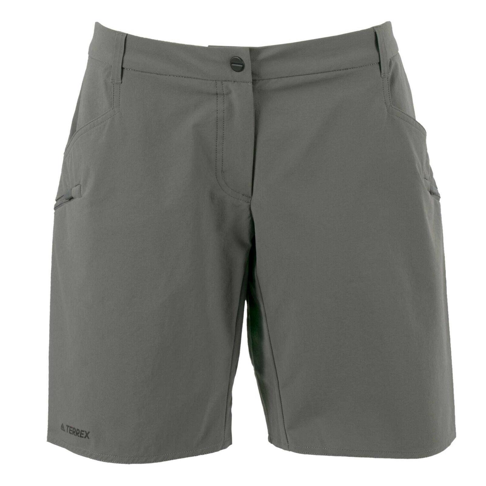 adidas Damen Shorts FN1496 Trailcross Short Grau / 40 / kurze Hose, Wanderhose