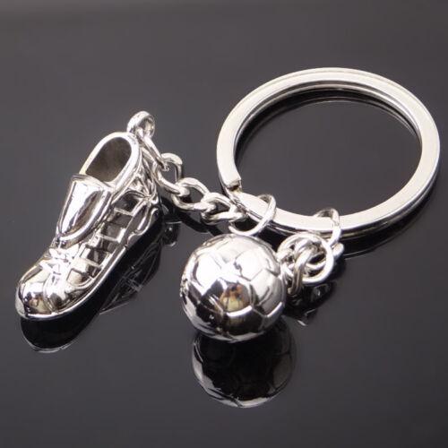 1X Creative Mini Sneakers Soccer Football Key Ring Keyring Keychain Pendant Gift