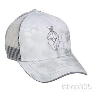 12cdf156665 Kryptek Yeti Black Mesh Back Cap Hunting Hat Trucker Camo Hat ...