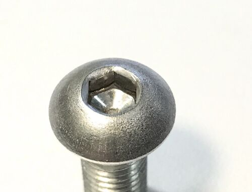10 Stück Schraube ISO 7380 M8x10 Edelstahl A2 Innensechskant Mutter M8 A2