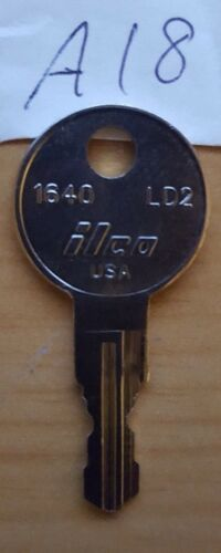 A18 key 1 NEW KEY FOR HUSKY TOOL BOX Home Depot KEYS CODE A18 toolbox
