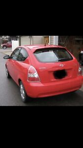 2007 Hyundai Accent ( low kms )