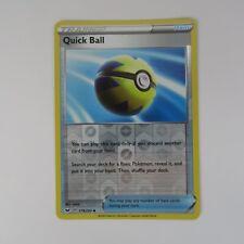 Mint Pokemon Sword and Shield Rebel Clash-4 x Quick Ball 179//202