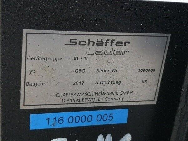 Andet, Schäffer Storballespyd m. beslag for Schäffer