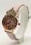 Betsey-Johnson-Women-039-s-Crystal-Crown-Rose-Gold-Tone-Watch-BJ00663-02BX-New thumbnail 1