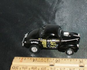 Details about 100% HOT WHEELS STONE WOODS & COOK '41 WILLYS GASSER NHRA  DRAGSTER RARE BLACK