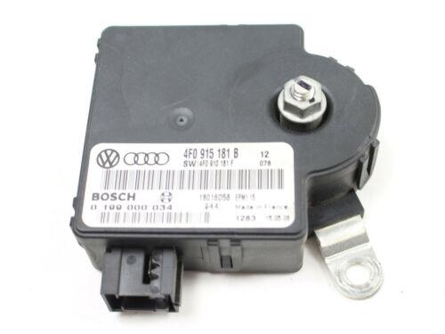 12 Monate Grarantie Audi A6 Batteriesteuergerät 4F0915181B Batterie 4F0910181F