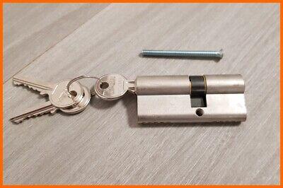2-10x Cylindre Profil 70mm 30//40 Porte Château S/'Ouvrant avec la Même Clé