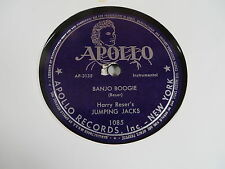 HARRY RESER'S JUMPING JACKS BANJO BOOGIE/JAZZ LEGATO/JAZZ PIZZICATO MINT-
