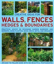 Creative Ideas for Walls, Fences, Hedges and Boundari..., Jenny Hendy 1844764834