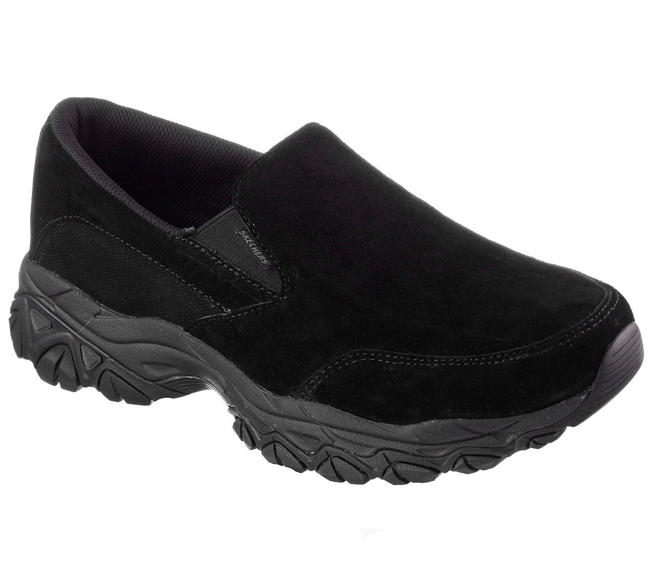SKECHERS MEN'S BLACK Schuhe After Burn M.Fit RESTAMP MEMORY FOAM BLACK MEN'S BLACK 50123 BBK eecb7c