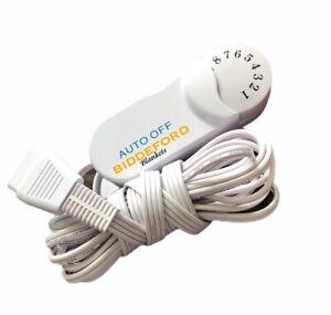 Biddeford Tc13ba Electric Blanket 4 Prong Dial Control Controller Cord White 8111289 Ebay